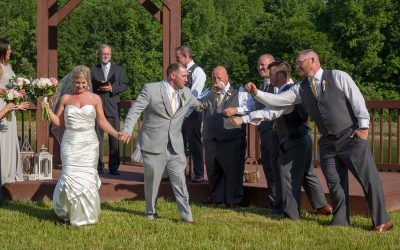 Do you get to have fun at your wedding? When does the party truly get started?